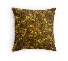Forest Canopy Saturn Throw Pillow