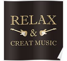 Relax & creat music Poster
