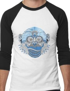 Colorful Monkey Men's Baseball ¾ T-Shirt