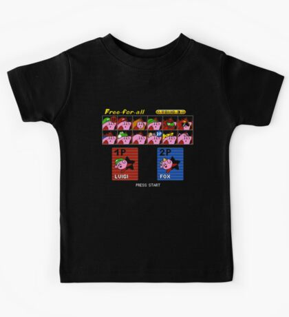 Super Kirby Brothers Kids Tee