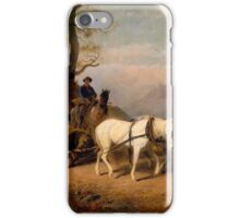 Return from the Bear Hunt. . William Hahn. iPhone Case/Skin