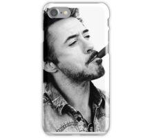 Robert Downey Jr. iPhone Case/Skin