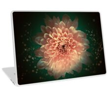 Abstract flower background Laptop Skin