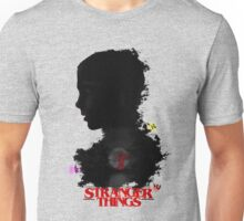 Stranger Things Art - R U N Unisex T-Shirt