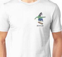 Skater Orca - Skorca Designs Unisex T-Shirt