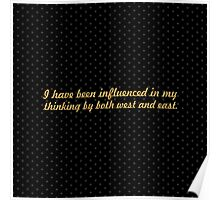 """I have been... """"Nelson Mandela"""" Inspirational Quote (Square) Poster"""