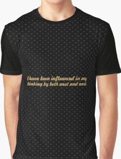 """I have been... """"Nelson Mandela"""" Inspirational Quote Graphic T-Shirt"""