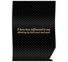 """I have been... """"Nelson Mandela"""" Inspirational Quote Poster"""