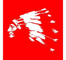 Whirling Horse Sioux Indian Chief Photographic Print