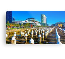 Docklands and Etihad Stadium - Melbourne, Victoria Metal Print