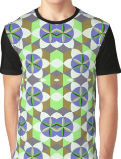 FLOWER OF LIFE TILE Graphic T-Shirt