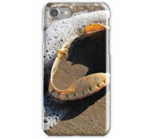 Empty Crab Shell iPhone Case/Skin