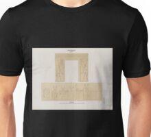 0051 Aethiopen Dynastie XXV 3 Barkal Jebel Barkal Grosser Felsentempel a Südwand der Cella b westl Neben Cella Unisex T-Shirt