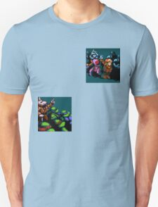 Turtles Intro Scene Unisex T-Shirt