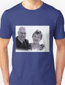 Friends Sandra and Billy........ Wiltshire UK Unisex T-Shirt