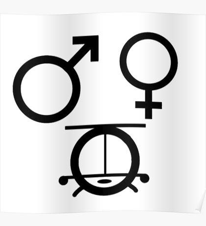 3 genders Poster