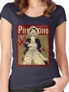 PIRATE KING 7 VINTAGE Women's Fitted Scoop T-Shirt