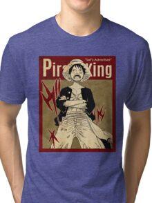 PIRATE KING 7 VINTAGE Tri-blend T-Shirt