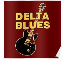Wonderful delta blues  Poster