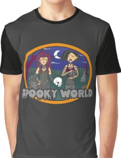 Spooky World Graphic T-Shirt