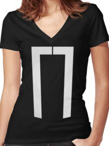 Reyes Rides Again Women's Fitted V-Neck T-Shirt