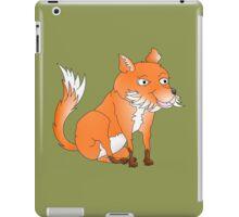 Cartoon Fox iPad Case/Skin