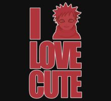 I LOVE CUTE Kids Tee