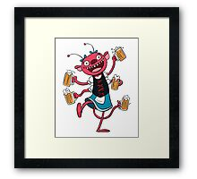 Marzen Beer Monster Framed Print