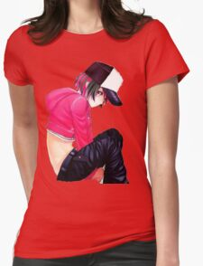 anime rad girls Womens Fitted T-Shirt