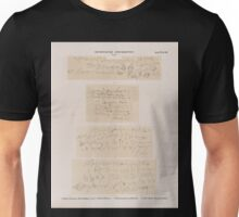 0156 Demotische Inschriften No 1 4 1 Theben Thebes Memnonia Dêr el Medînet Plan CC Säule in Raum A 2 Wüstentempel von Redesîeh 3 4 Ost Silsilis Felseninschriften Unisex T-Shirt