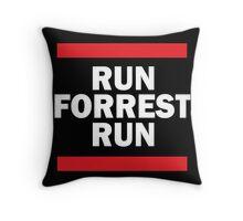 Run Forrest Run Throw Pillow
