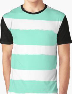 mint stroke Graphic T-Shirt