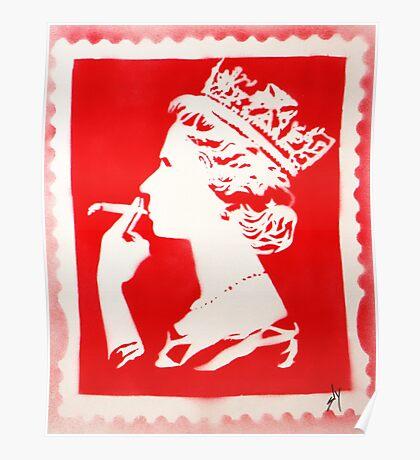 SPLIFF QUEEN (RED) Poster