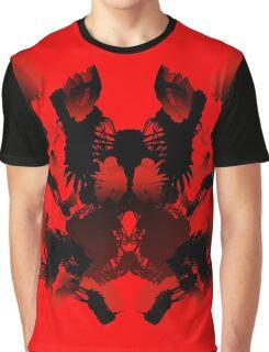 Rorschach Red Graphic T-Shirt