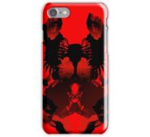 Rorschach Red iPhone Case/Skin