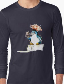 Penguin Punk Long Sleeve T-Shirt
