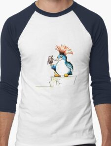 Penguin Punk Men's Baseball ¾ T-Shirt