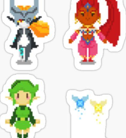 The Ladies of Legend of Zelda - Set 1 Sticker