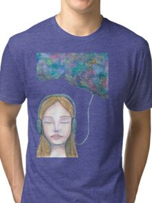 Sound Cloud Tri-blend T-Shirt