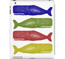 Vintage Sperm Whale illustration iPad Case/Skin
