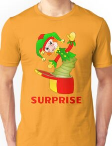 SURPRISE Jack in the Box Unisex T-Shirt