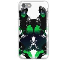 Rorschach Green iPhone Case/Skin