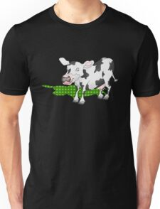 Cow Casting a Green Shadow Unisex T-Shirt