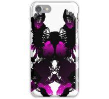 Rorschach Pink iPhone Case/Skin