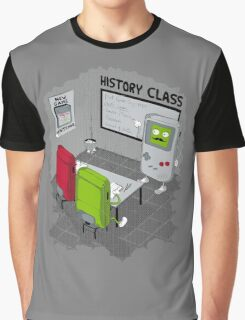 History Class Graphic T-Shirt