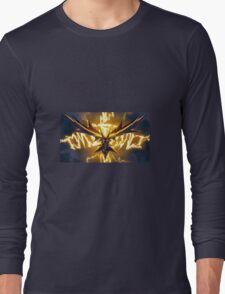 Zapping like a Zapdos! Long Sleeve T-Shirt