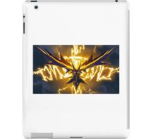 Zapping like a Zapdos! iPad Case/Skin