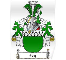 Fey Coat of Arms (Dutch) Poster