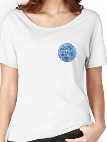 Christian round sticker 1 Women's Relaxed Fit T-Shirt