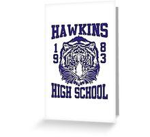 Hawkins High School Greeting Card